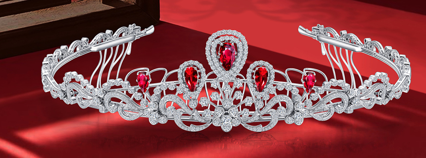 红宝石项链-玖玖珠宝